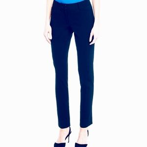 Fitted Navy Tailored Pant With Light Stretch